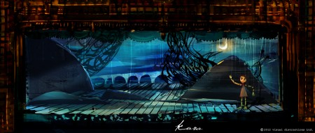 Marionette stage, inspirational artwork